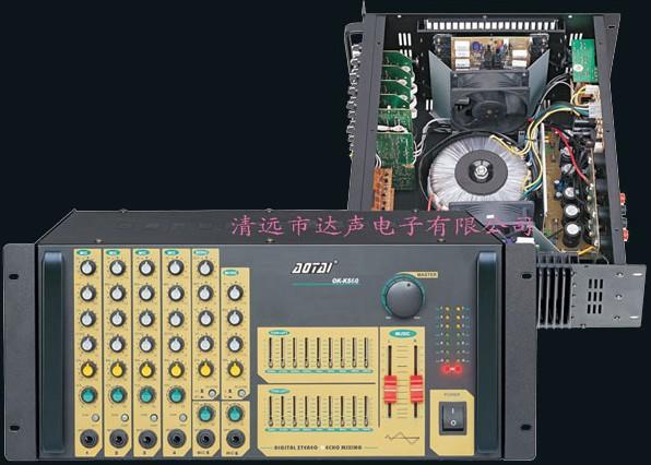 本放大器之卡拉ok系统具有双重音质调节功能