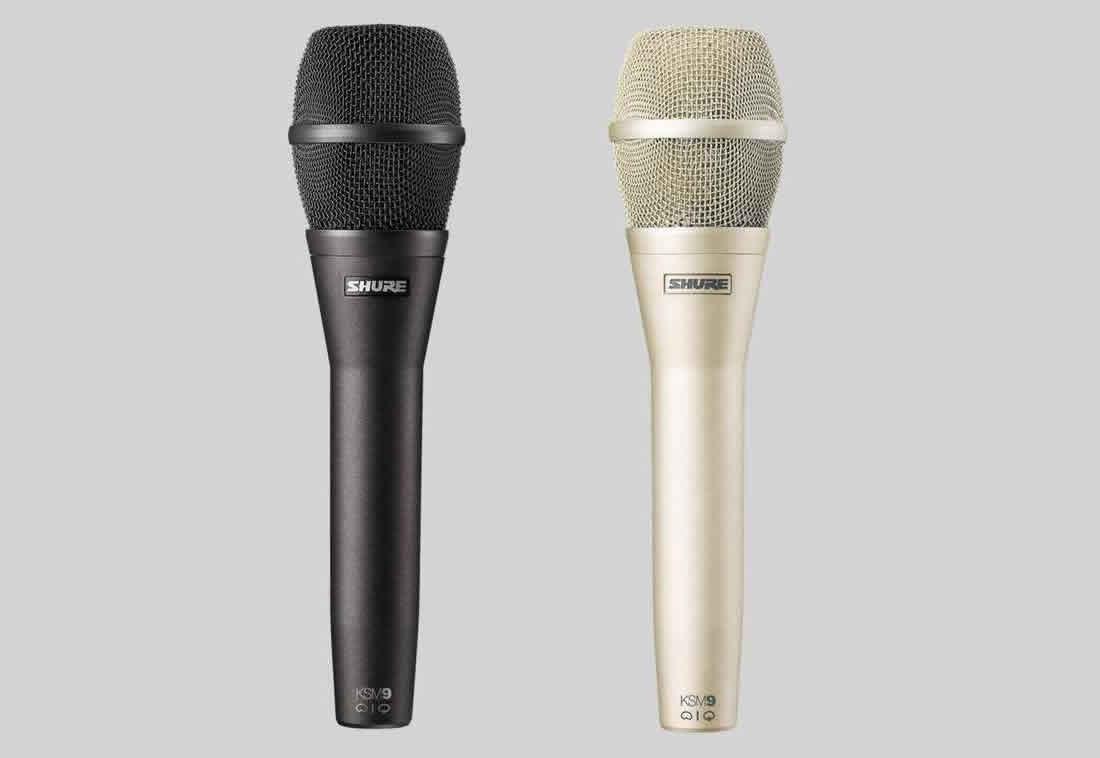 上海视听网--shure演唱话筒系列产品:舒尔人声话筒